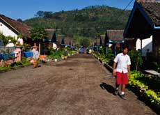 Village at the Ijen Plateau - mainly for workers at the coffee plantation