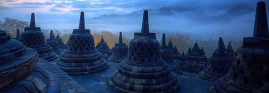Borobudur stupa - Borobudur in line for UNESCO rank