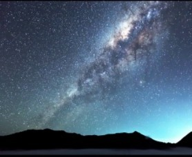 Photograph the Milkyway seen at Mt. Bromo - East Java