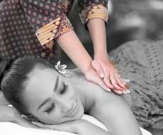 A massage for relaxation