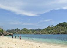 Three coloured beach - south Malang, East Java - Indonesia