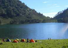 Ranu Kumbolo - in Eglish Kumbolo lake, Bromo-Tengger-Semeru National Park