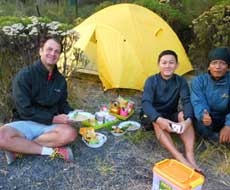 Camping volcano tour East Java