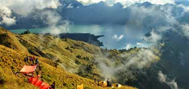Volcano Rinjani at Lombok - Indonesia