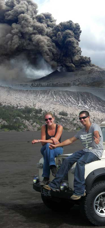 Volcano trekking - at Mt. Bromo